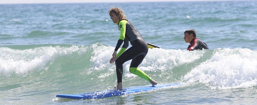 Des cours de surf à Batz Sur Mer